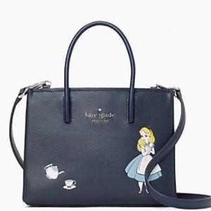 NWT Disney x Kate Spade Alice shopper crossbody